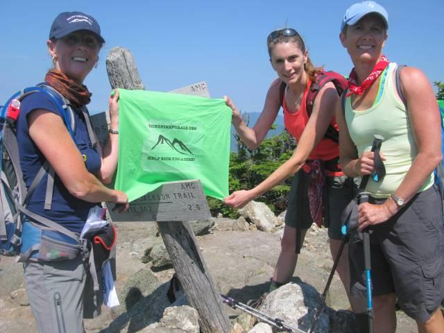 Mt. Jackson - Anne, Jennifer & Lisa