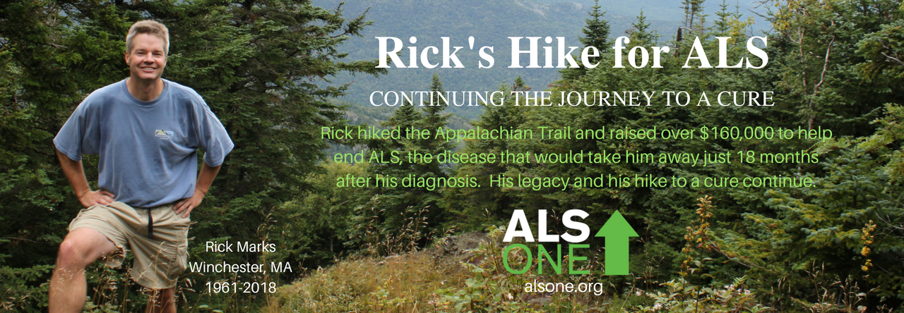 Rick's Hike for ALS – Hiking to find a treatment or cure by 2020